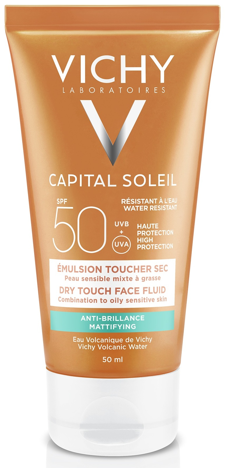 Image of Vichy Capital Soleil Dry Touch Zonnecrème SPF50