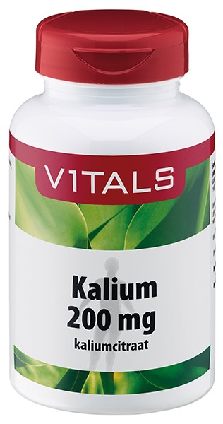 Vitals Kalium citraat 200 mg