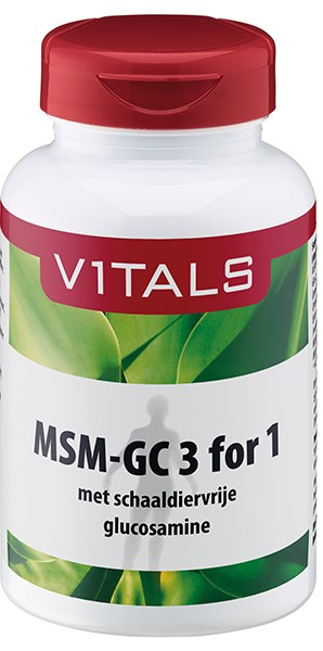 Vitals - MSM-GC 3 for 1 - 120 tabletten - Voedingssupplement