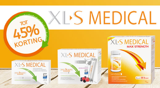 XL-S Medical tot 45% korting!