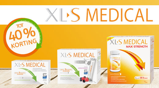 XL-S Medical tot 40% korting!