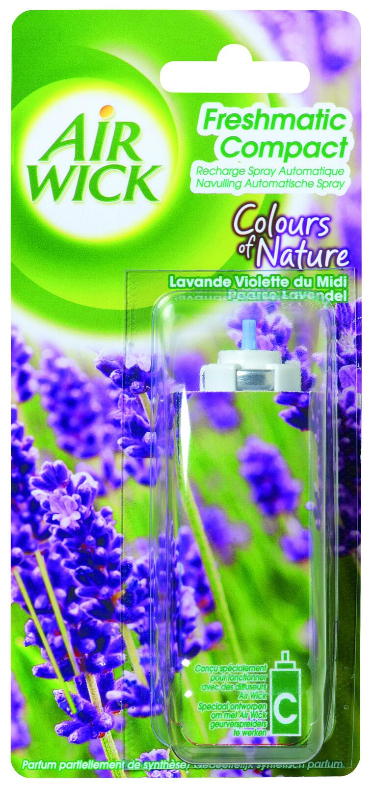 Airwick Freshmatic Compact navulling lavendel