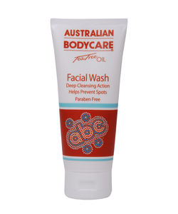 Australian Bodycare Facial Wash Tea Tree Oil Deep Cleansing Action - 100 ml - Reinigingscrème