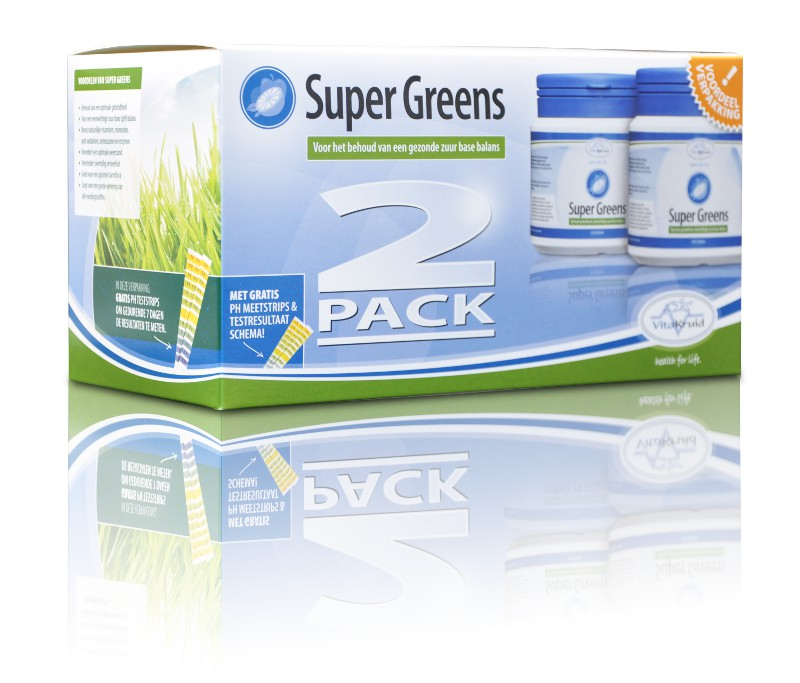 Vitakruid Super Greens 2 Pack - 2 x 220 g