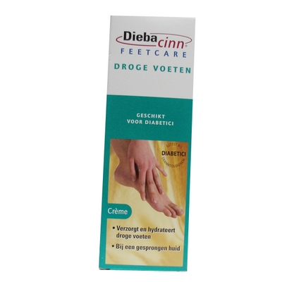 Foto van DiebaCinn Feet Care Droge Voeten 75ml