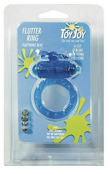 Flutter-ring Vibrating Ring Blauw