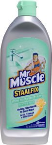 Mr Muscle Staalfix poetsmiddel 200 ml