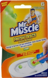 Mr Muscle Fresh Discs Lime