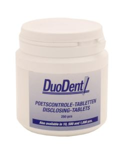 Duodent Poetscontrole Tabletten - 611P - 250 st - Tandpasta