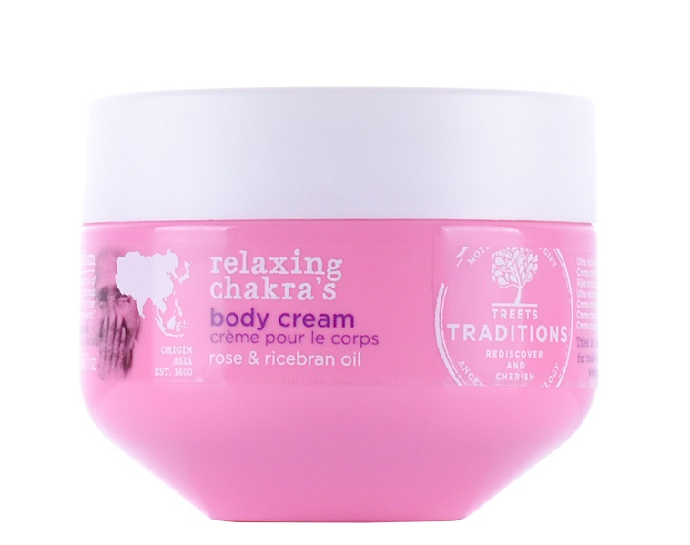 Treets Relaxing chakra´s body cream 250ml