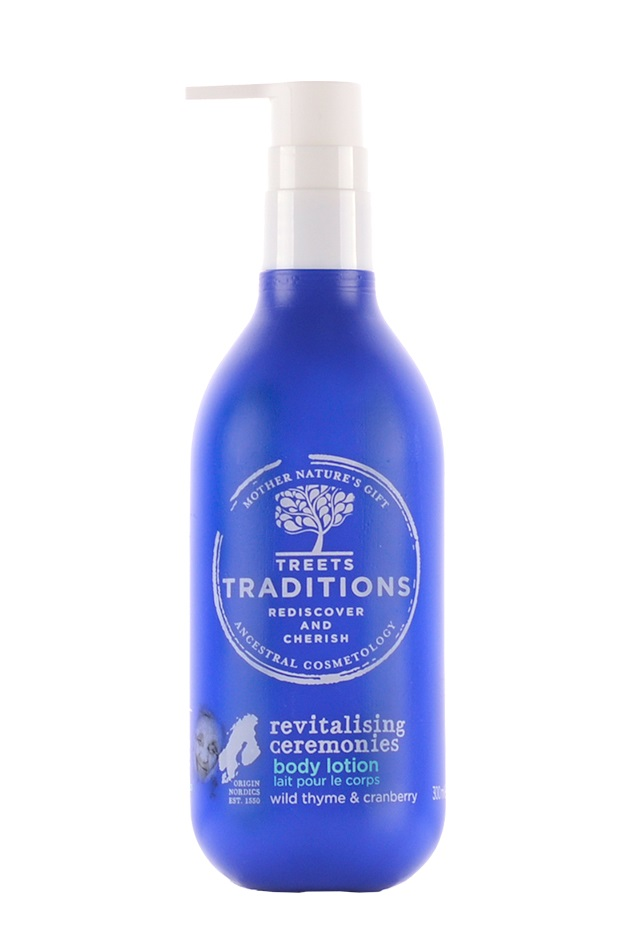 Treets Revitalising Ceremonies body lotion 300ml