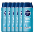 Nivea Men Nivea For Men Fresh & Cool Shampoo Voordeelverpakking 6x250ML