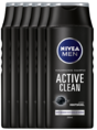 Nivea Men Active Clean Shampoo Voordeelverpakking 6x250ML