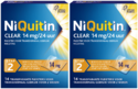 Niquitin Clear Pleisters 14mg Stap 2 Duoverpakking 2x14ST