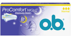 OB O.B. Tampons ProComfort Night Previously Flexia Normaal 16ST