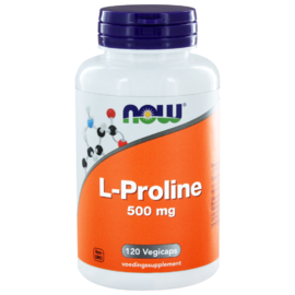 NOW L-Proline 500mg Capsules 120CP