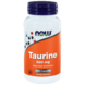 NOW Taurine 500mg Capsules 100ST