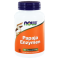 NOW Papaja Enzymen Kauwtabletten 180TB
