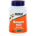 NOW Betaïne HCl 648 mg Capsules 120ST