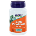 NOW Zink Picolinaat 50mg Capsules 60ST