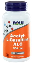 NOW Acetyl L-Carnitine 500mg Capsules 50ST
