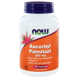 NOW Ascorbyl Palmitate 500mg Capsules 100ST