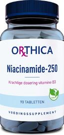Orthica Niacinamide-250 Tabletten 90TB