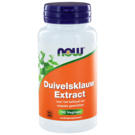 NOW Duivelsklauw Extract Capsules 100ST