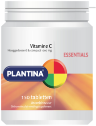 Plantina Essentials Vitamine C Tabletten 150TB
