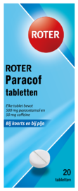 Roter Paracof Tabletten 500mg / 50mg 20TB