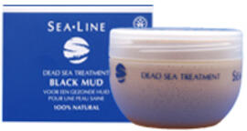 Sea Line Black Mud Facial Mask And Body Pack 225ML