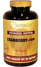 Artelle Cranberry 5000mg Capsules 220CP