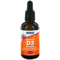 NOW Vitamine D3 Druppels 60ML