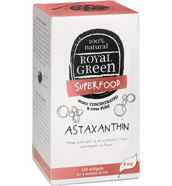 Royal Green Astaxanthine Capsules 120CP