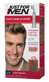Just For Men Easy Comb-In Color Light Brown A-25 1ST