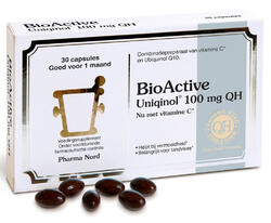 Pharma Nord BioActive Q10 Uniqinol 100mg Capsules 30CP