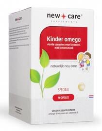 New Care Kinder Omega Capsules 90CP