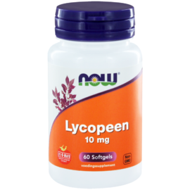 NOW Lycopeen 10mg Capsules 60ST