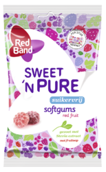 Red Band Sweet 'n Pure Softgums Red Fruit 70GR