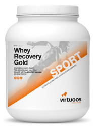 Virtuoos Whey Recovery Gold Aardbei 1000GR