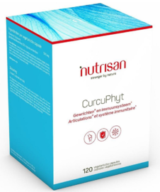 Nutrisan CurcuPhyt Capsules 120VCP