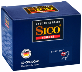 Sico 52 (Fifty-Two) Condooms 50ST