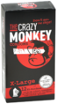 The Crazy Monkey X-Large Condooms 12ST