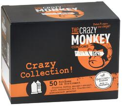 The Crazy Monkey Condooms Crazy Collection! 50ST