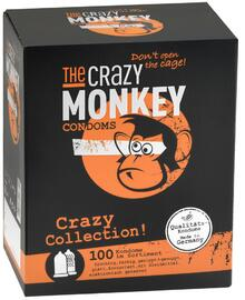 The Crazy Monkey Condooms Crazy Collection! 100ST