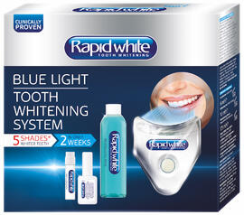 Rapid White Blue Light Tooth Whitening System 1ST