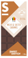Sweet-Switch Milk & Salted Caramel Chocolate 100GR