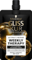 Schwarzkopf Gliss Kur Ultimate Repair Weekly therapy Haarmasker 50ML