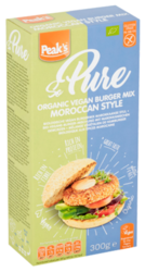 Peaks Free From Moroccan Burgermix 300GR