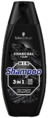 Schwarzkopf Men Charcoal + Clay 3-in-1 Shampoo 400ML